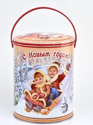Подарки в металлической упаковке